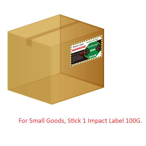 Impact Label 100G 【Shock Sticker】| WAN-YO