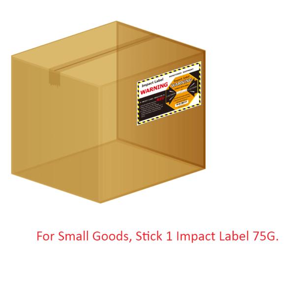 Impact Label 75G  【Shipping Damage Indicator Factory】  WAN-YO