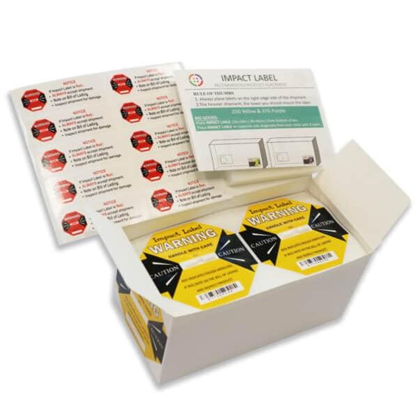 Impact Label 25G 50PCS/BOX