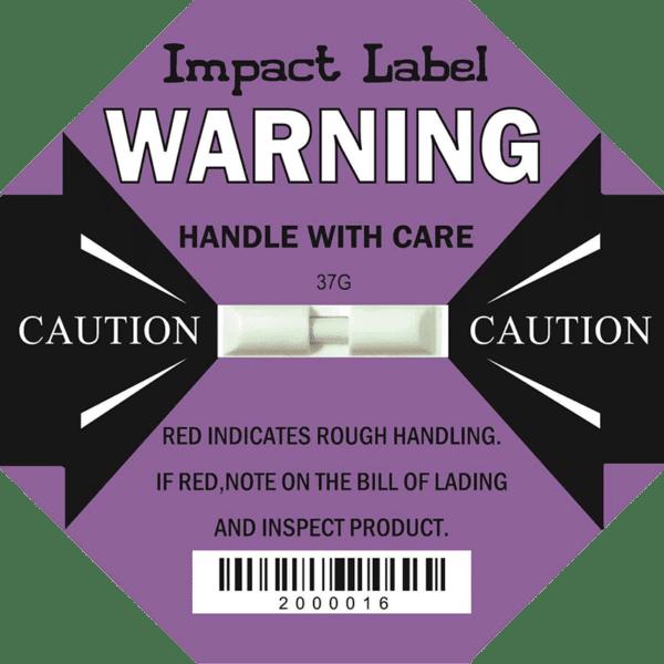 Impact Label 37G 【Shock Detector】