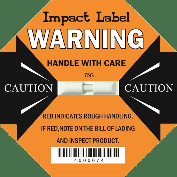 Impact Label 75G 【Shipping Damage Indicator】
