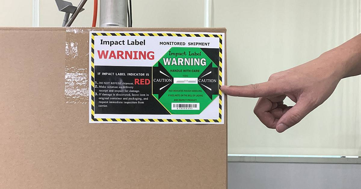 『Correct Apply Position』Shock Indicator Labels
