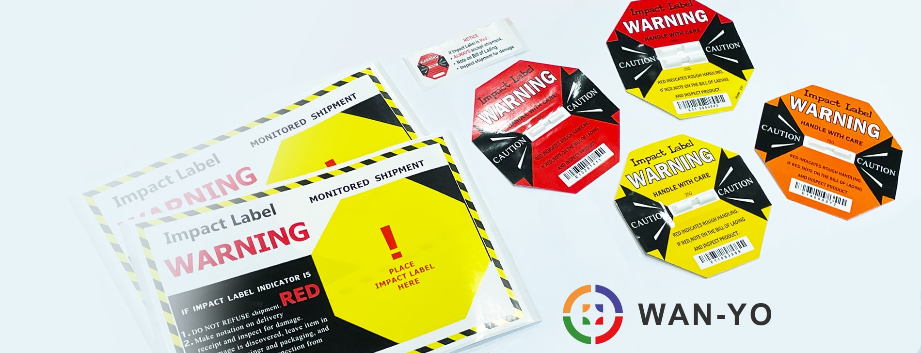 3 Mins》4 Ways, Select Shock Indicator Sticker