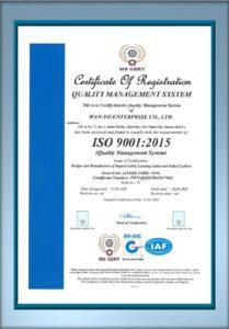 WAN-YO ISO 9001