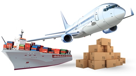 air freight and sea freight services