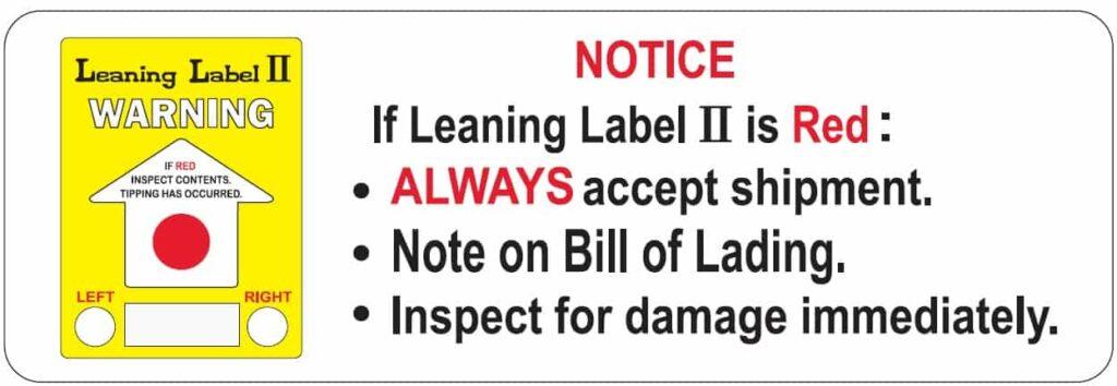 Small Warning Label