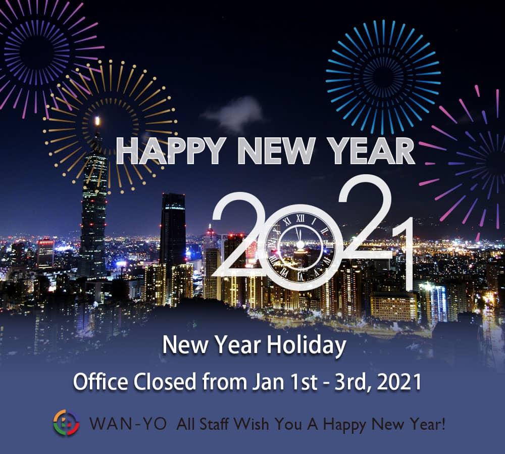 2021 New Year Holiday