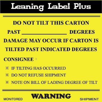 Companion Label for tiltwatch plus