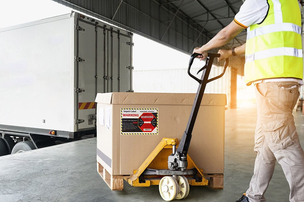 【2021】Shock Label Increases Forklift Safety & Cargo Safety in Warehouse?