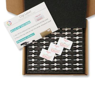 Clip Label25G-S2-震動指示片-產品包裝