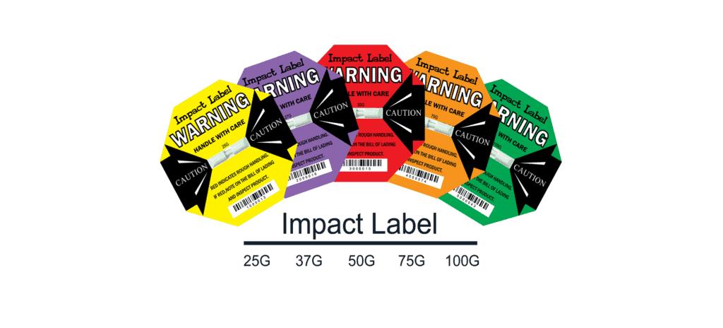 Choose Shock Indicator Label-衝擊指示器產品型號