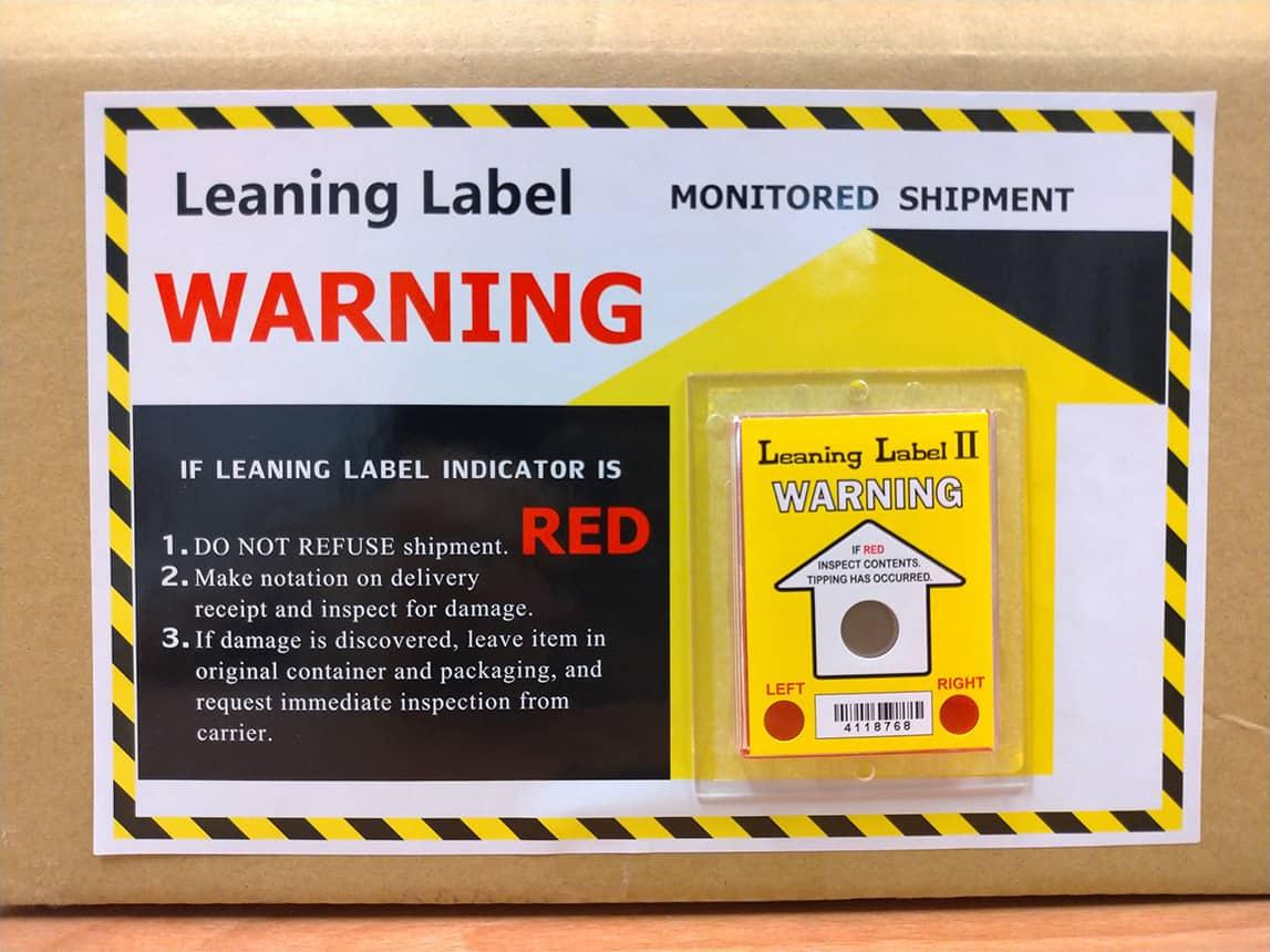 出口貨物的運輸包裝標籤貼紙有哪些?