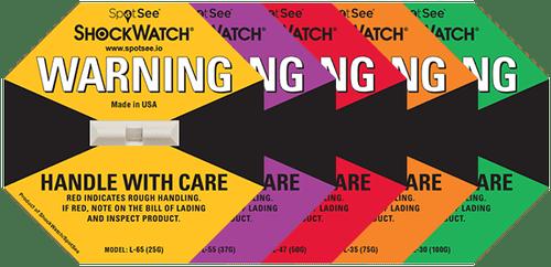shockwatch label