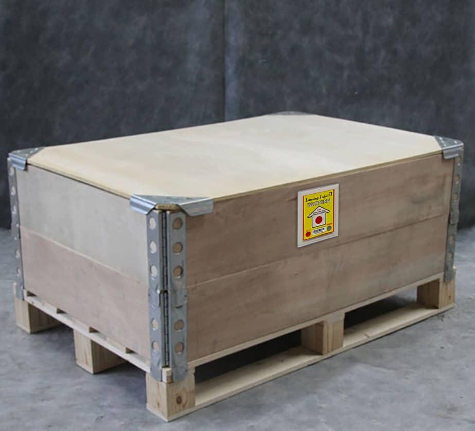 變色的傾斜指示器 最好是黏在木箱上的