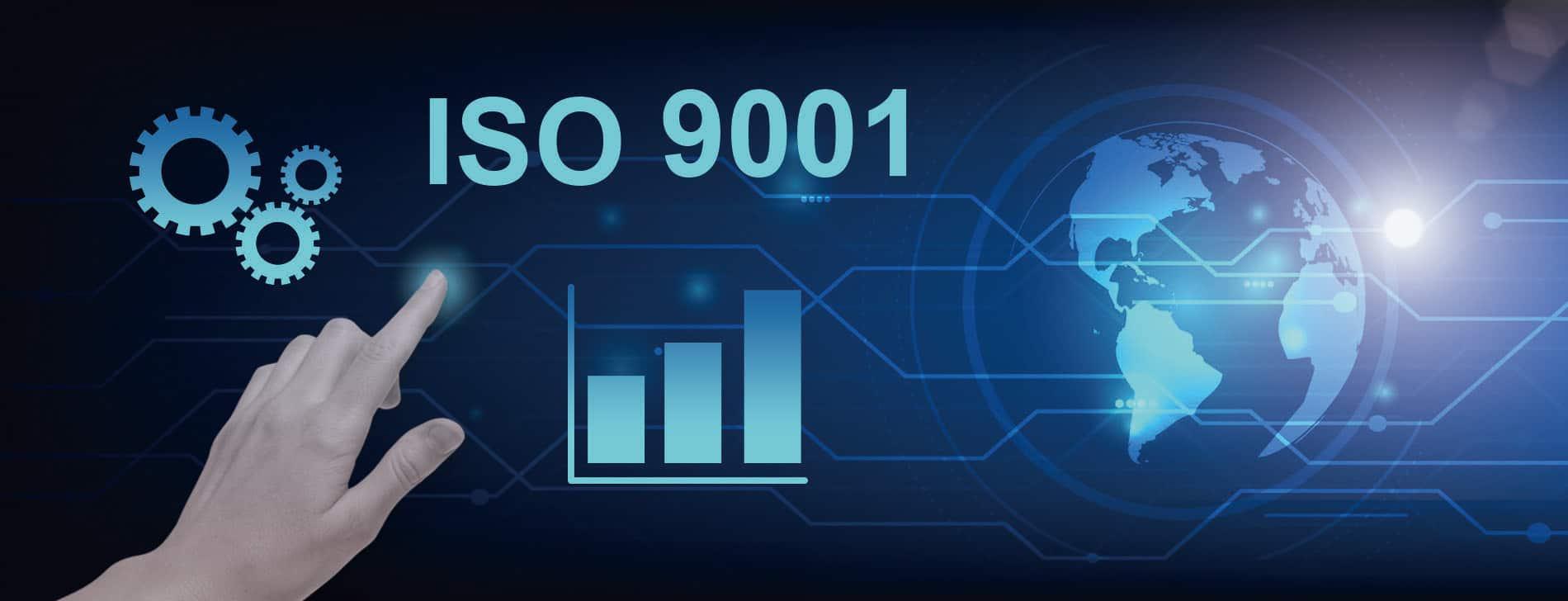通過 ISO 9001 2015 國際標準驗證