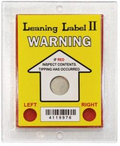 Leaning Label II : 傾斜指示器2代