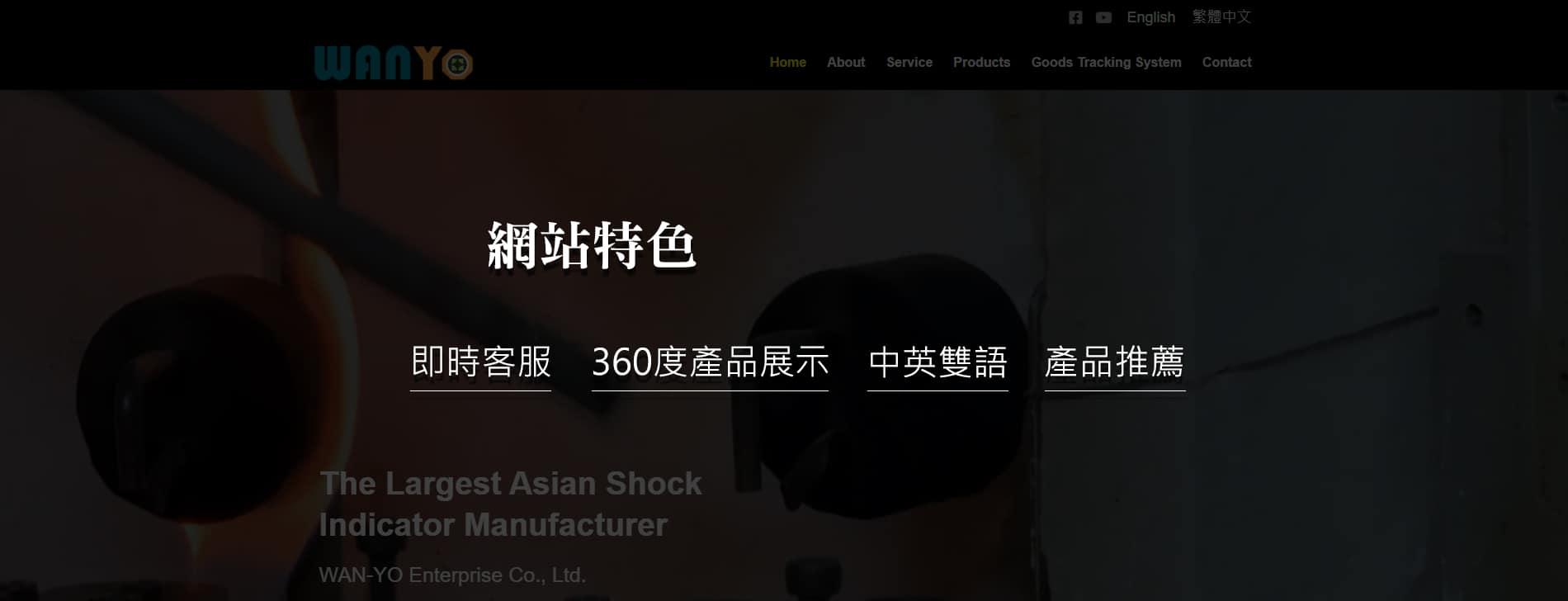 網站功能介紹