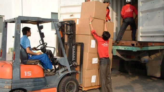 確保運輸的貨物(裝卸、運輸和存儲)