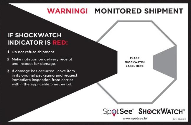 Shockwatch 配件貼紙