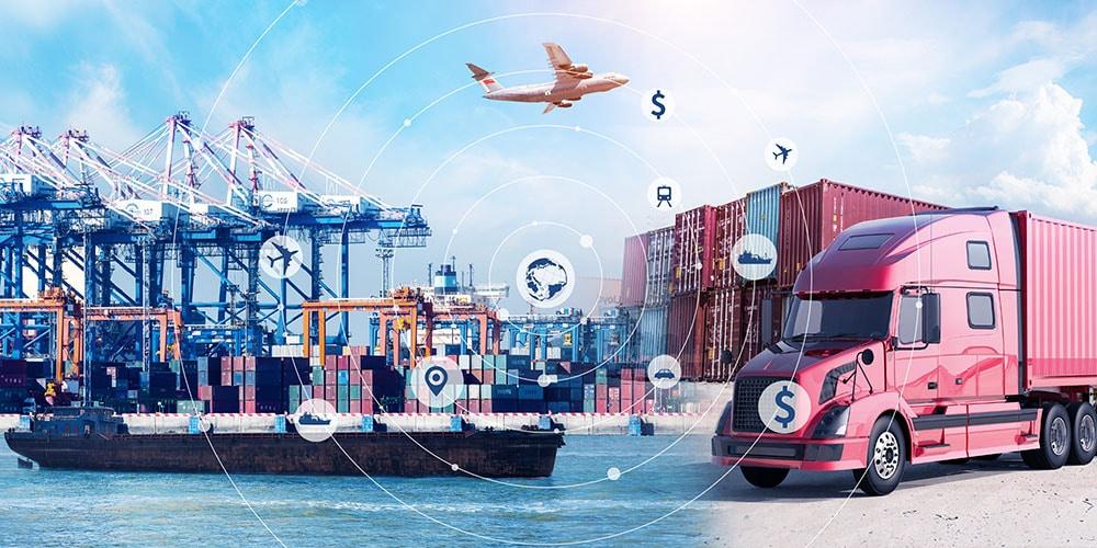 《2021產業應用-貨運公司》全球貨運的解決方案【注意貼紙】