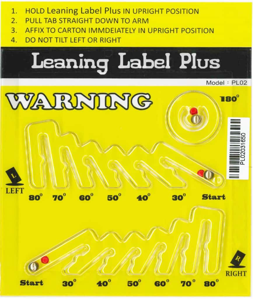 Leaning Label Plus - Tiltwatch Price-Leaning Plus 多角度傾斜指示器 - Tiltwatch plus Price