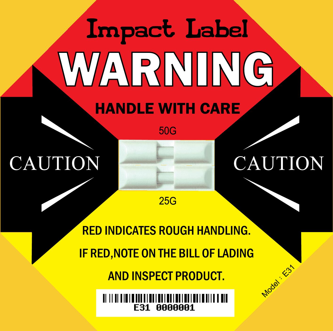 Dual Impact Label -E31