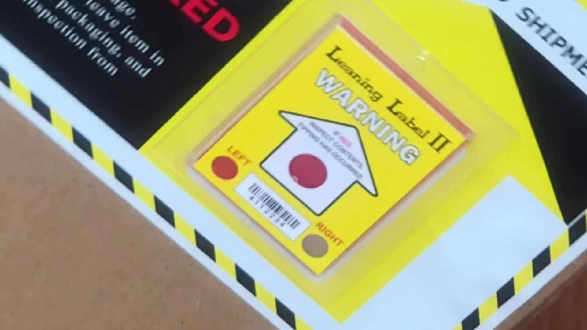 2 Step►How to Select Tilt Label? Enforce This Side Up, Do Not Tilt